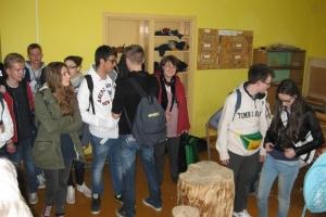 Italų viešnagė kūrybos namuose