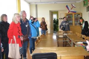 """Kūrybos namuose darželis """"Buratinas"""" ir jų svečiai iš Švedijos ir Turkijos"""