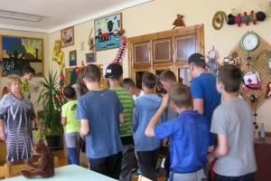 Kūrybos namuose svečiai iš Gilvyčių mokyklos (2017-05-25)