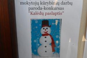 """Respublikinė mokinių ir mokytojų kūrybinių darbų paroda-konkursas """"Kalėdų paslaptis"""""""