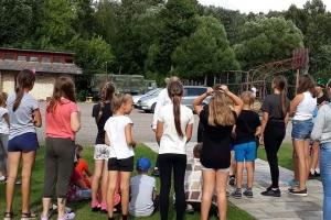 """Vaikų vasaros poilsio stovykla """"Pažink, tausok, saugok ir gėrėkis gamta"""" Balsiuose, Akmenės rajone (2020-08-28)"""